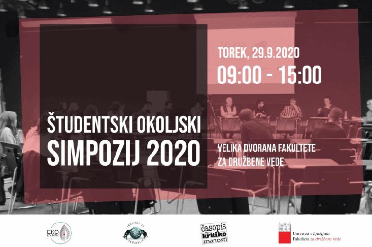 Študentski okoljski simpozij 2020